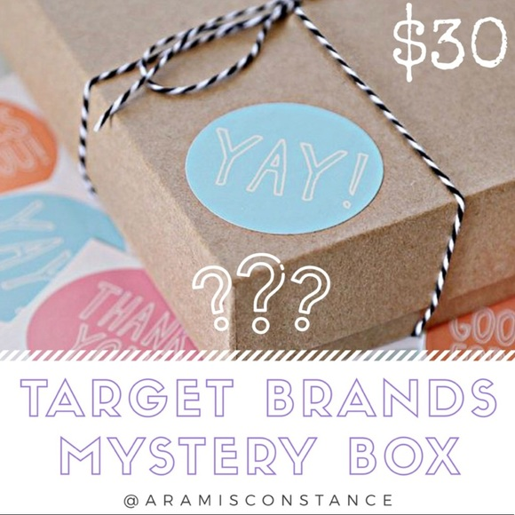 Xhilaration Other NEW WITH TAGS TARGET BRAND MYSTERY BOX Poshmark